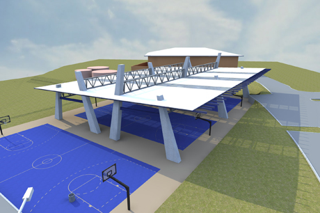 Basketball Covered Courts Joy Studio Design Gallery